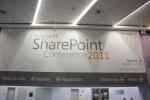 Hall d'arrivée de la SharePoint Conference