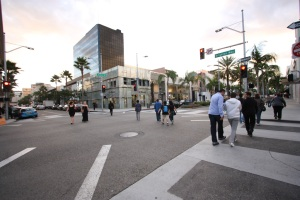 Beverly Hills - Carrefour de Rodeo Drive