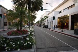 Les allées de Beverly Hills