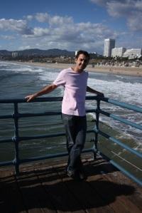 Santa Monica - Marc sur le ponton