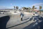 Venice Beach - La piste de Skate Board