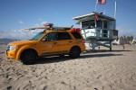 La plage de Venice Beach