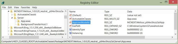 Registry AppLauncher