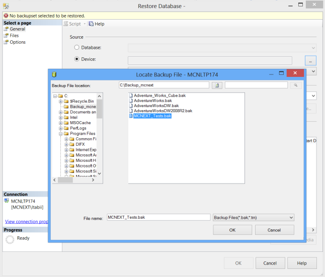 Image 3 Tutorial Migration SQL Server 2008 vers 2012