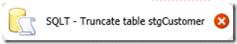 Composant Execute SQL Task