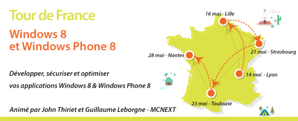 Tour de France Windows 8 et Windows Phone 8