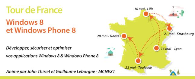 Tour de France Windows 8 et Windows Phone 8