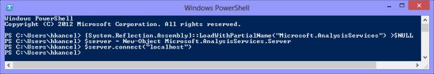 Connexion au server localhost