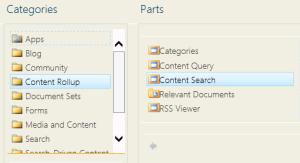 Content Search Web Part