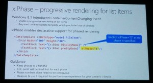 Build2015_Data Binding : Boost your app's performance through new advancement to XAML Data Binding