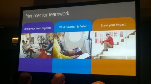 Microsoft Ignite 2015 – Yammer for team Collaboration – Mercredi 6 mai