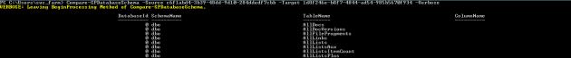 compare-spdatabaseschema