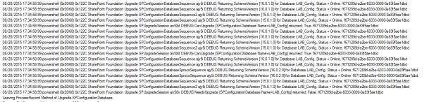 upgrade-spconfigurationdatabase