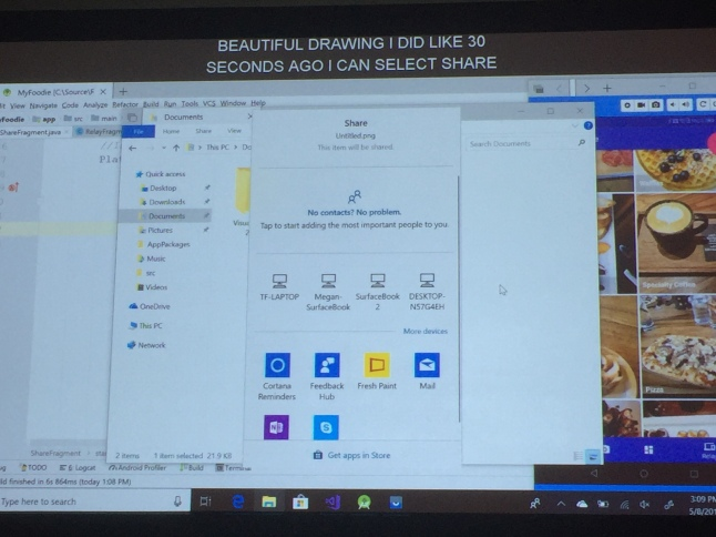 Build 2018 – Behind the scenes: Sets on Windows 10 and Your